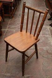 Late Victorian Kitchen Chair #
