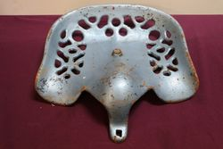 Antique Cast Iron Tractor- Implement Seat     #
