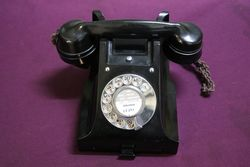 Early C20th Bakelite Telephone #
