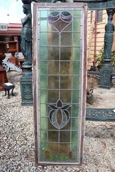 Stained Glass Lead Light Window #