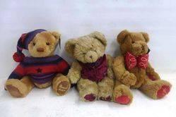 A Selection of Harrods Teddy Bears
