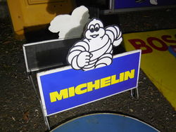 Selection of Michelin Enamel and Tin Signs
