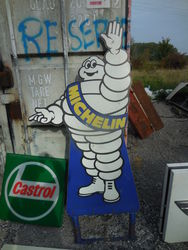 Selection of Michelin Enamel + Tin Signs