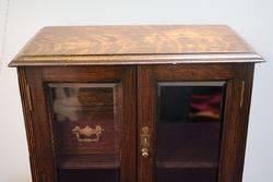 English Oak 2 Door Smokers Companion C190010