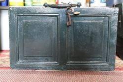 Antique Iron Storage Box