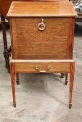 Oak Smokers Cabinet C.1900