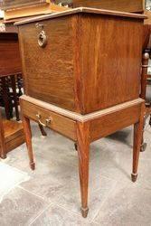 Oak Smokers Cabinet C1900