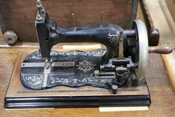 Antique Fiddle Base Sewing Machine #