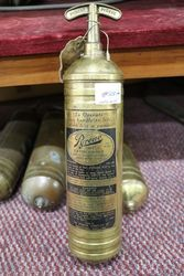 Brass Pyrene Fire Extinguisher #