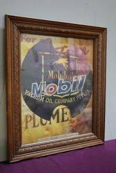 Framed Mobil Vacuum Poster