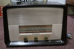 His Masters Voice Brown Bakelite Radio
