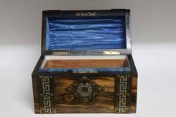 Wonderful Victorian Coromandel Trinket Box