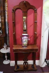 Victorian Mahogany hall stand C1880 #