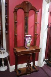 Victorian Mahogany hall stand C1880