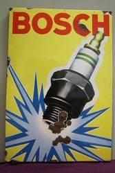 Bosch Enamel Advertising Sign  #