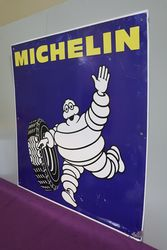 Michelin Aluminium Advertising Sign