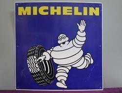 Michelin Aluminium Advertising Sign #