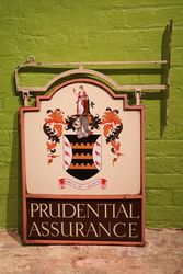 Prudential Assurance Double Sided Sign  #