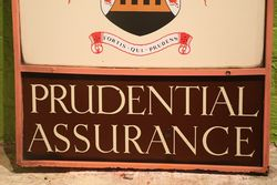 Prudential Assurance Double Sided Sign