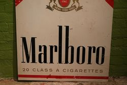 Marlboro Double Sided Aluminium Advertising Sign