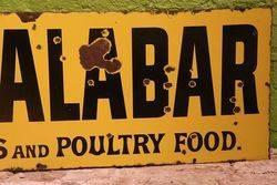 Old Calabar Dog Food Enamel Advertising Sign