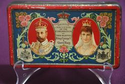 Fry's 1911 Coronation King George V + Queen Mary  #