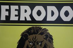 Ferodo Tin Brake Testing Service Advertising Sign