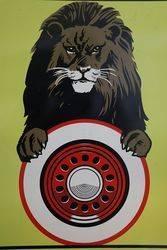 Ferodo Brake Testing Service Advertising Tin Sign