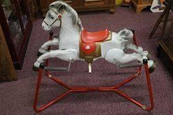 Vintage Mobo 'Prairie King' Rocking Horse #