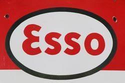 Esso Enamel Advertising Sign
