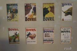 Bovril Framed Shop Card Advertising Sign