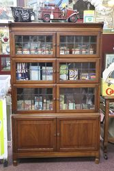 Minty Oxford Globe Bookcase In Original Condition  #