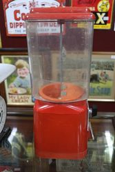 Vintage 10p Gumball machine