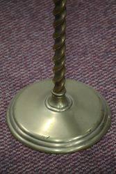 Antique Brass Cigarette Stand