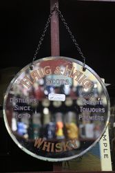 Haig & Haig Scotch Whisky Hanging Mirror #