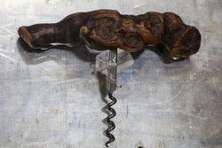 Petrified Wood Corkscrew #
