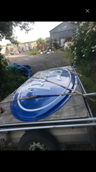 5mt Ford Oval Acrylic Advertising Sign