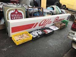 Large 2 Piece Alfa Romero Light Box