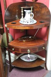 Early C19th Corner Wash Stand English C1820 #