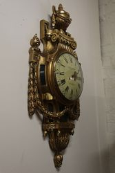 Swedish Gustavian Louis XVI Style Gilt Wood Late 19th Century