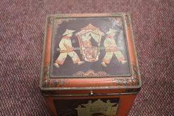 Wonderful Large Early Tea Tin