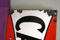 Castrol Wakefield Bow Tie Rack Sign