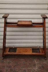Arts & Crafts Oak Stick Stand...#