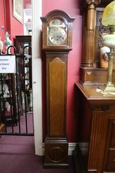 Early C20th Westminster Chime Grandmother Clock .#