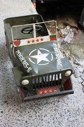 1950s Original Triang Jeep Pedal Car