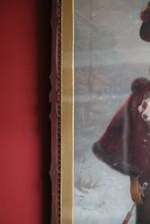 Antique Framed Print andquotA Lucky Dogandquot