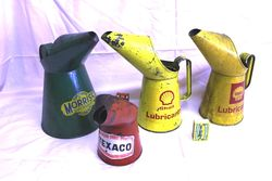 Selection of Oil Pourer Jugs