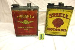 Selection of Motor Oil Tins