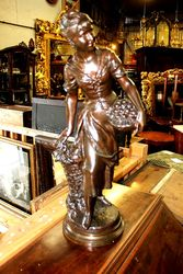 Lovely C19th Bronze Figure by Kossowski