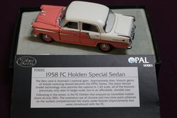 143 Trax Pal Series TO02C 1958 FC Holden Special Sedan